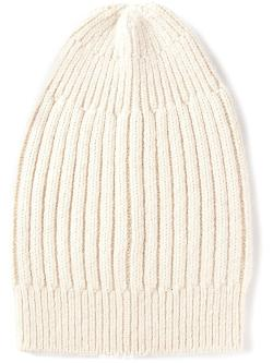 Rick Owens  - Ribbed Slouchy Beanie Hat