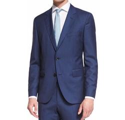 Hugo Boss Hugo - Johnstons Lennon Striped Slim-Fit Basic Suit