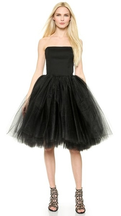 Loyd/ford - Bustier Tulle Gown