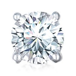 JC Penney - Single Round Diamond Stud Earring
