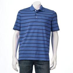 Croft & Barrow - Classic-Fit Striped Pocket Polo Shirt