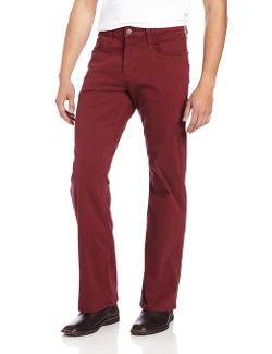 Mavi - Matt Burgundy Twill Jeans