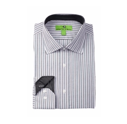 Bristol & Bull - Split Stripe Dress Shirt