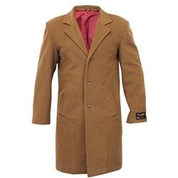 UNVC -  Stylish Trench Cashmere Wool Coat