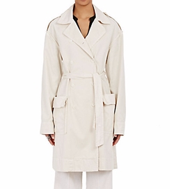 Raquel Allegra - Military Trench Coat