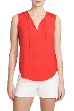 1.state - Tie Front Sleeveless Top