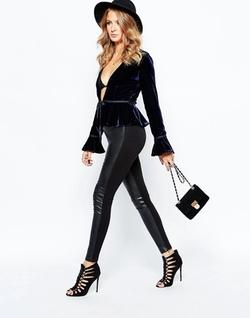 Millie Mackintosh - Faux Leather Pants