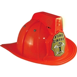 Aeromax - Jr. Fire Chief Firefighter Helmet with Lights