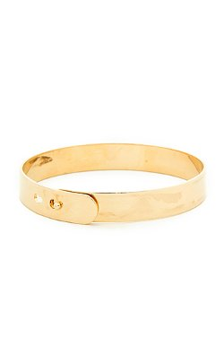 Dailylook - Flat Bangle Bracelet