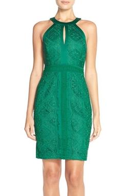 Adelyn Rae - Lace Sheath Dress