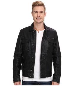 Calvin Klein Jeans - Faux Leather Moto Jacket