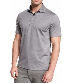 Ermenegildo Zegna - Stretch-Cotton Polo Shirt