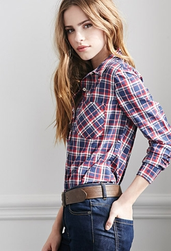 Forever 21 - Classic Plaid Shirt