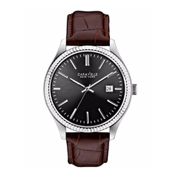 Caravelle New York By Bulova - Leather Strap Watch