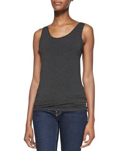 Majestic Paris For Neiman Marcus   - Scoop-Neck Tank Top