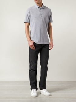 Brunello Cucinelli - Marled Polo Shirt