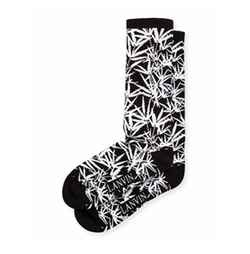 Lanvin  - Jungle Leaf Wool Jacquard Socks