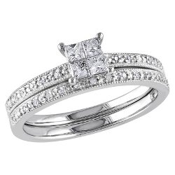 Tevolio - Diamond Wedding Ring