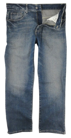Calvin Klein - Classic-Fit Medium Wash Jeans