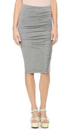 AIR by Alice + Olivia  - Side Gathered Skirt