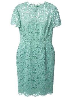 Valentino  - Lace Sheath Dress