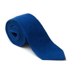 Pino - Imperial Blue Raw Silk Necktie