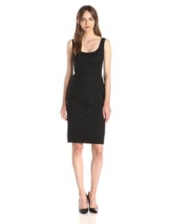 Ivy & Blu - Sleeveless Body Con Sheath Dress