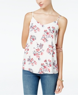 Hippie Rose  - V-Neck Strappy Cami Top