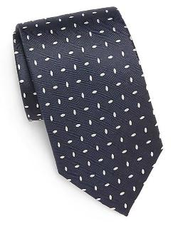 Yves Saint Laurent  - Patterned Silk Tie