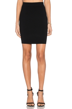 T By Alexander Wang - Full Needle Knit Pencil Skirt