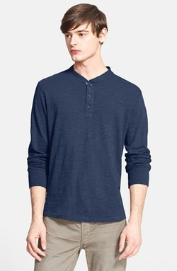 Rag & Bone - Slub Cotton Henley Shirt