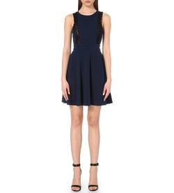 Claudie Pierlot  - Resille Skater Dress