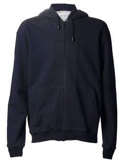 Maison Martin Margiela  - Hooded Ribbed Sweatshirt