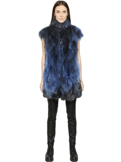 Ava Adore  - Reversible Fur & Boiled Wool Vest