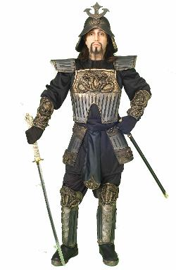 The Costume Land - Deluxe Samurai Warrior Men Costume