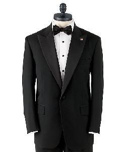 Brooks Brothers - One-Button Peak Lapel Tuxedo Jacket De