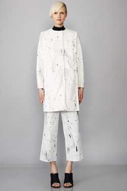 Opening Ceremony - Banana Printed Boxy Coat