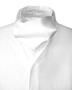 Antonio Ricci Couture - Solid Ascot Tie