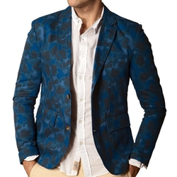 J.A.C.H.S - Double-Faced Camouflage Blazer
