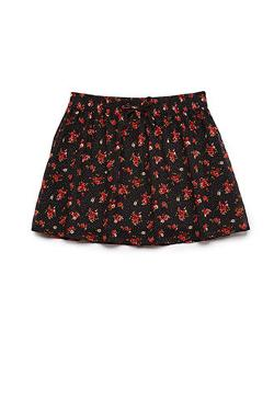 Forever 21 - Dotted Floral Skirt