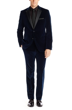 Boss - Velvet and Satin Tuxedo Suit