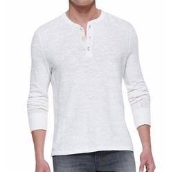 Rag & Bone - Standard Issue Slub-Knit Basic Henley Shirt