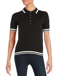 Ivanka Trump  - Knit Polo Shirt