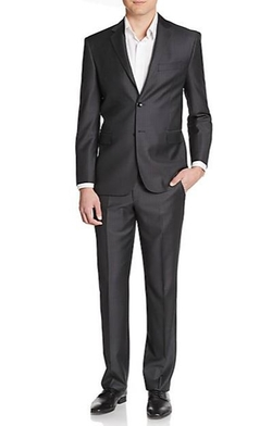 Yves Saint Laurent  - Modern-Fit Pinstripe Wool Suit