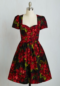 ModCloth - Only In Merry Tales Dress