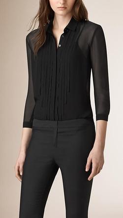 Burberry - Sheer Silk Shirt