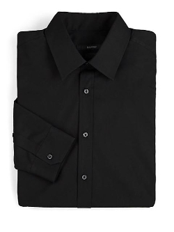 Gucci  - Regular-Fit Solid Dress Shirt