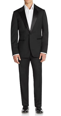 Boss Hugo Boss  - Caiden/Glam Virgin Wool Tuxedo Suit
