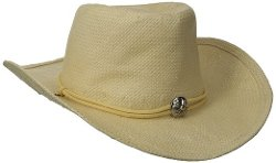 San Diego Hat Company - Woven Paper Straw Cowboy Hat