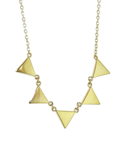 Jennifer Meyer - Five Triangle Necklace